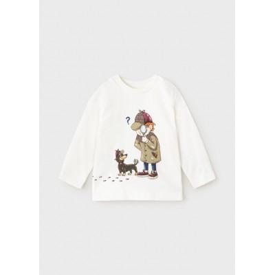 Koszulka d/r detective   Art.02066 K36 Roz. 80