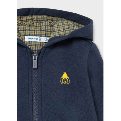 Bluza gładka z detalami   Art.02424 K92 Roz. 80