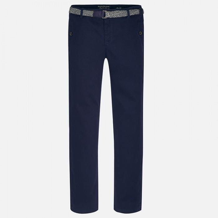 Spodnie klasyczne z paskiem | Art.07513 K42 Roz. 160 cm