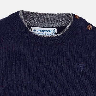 Sweter z lamówką | Art.00351 K56 Roz. 80