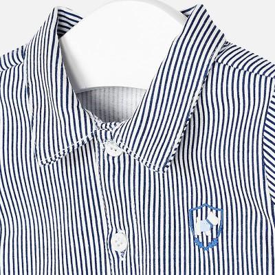 Koszula d/r dzianina paski | Art.02102 K29 Roz. 2-4