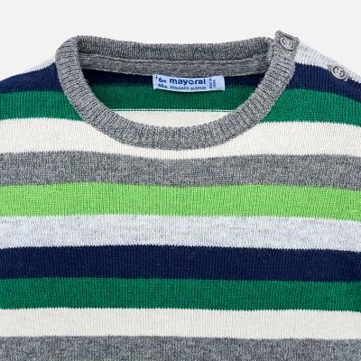 Sweter paski | Art.02322 K10 Roz. 80