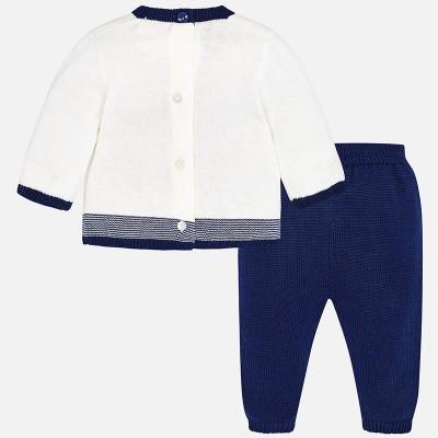 Komplet spodnie długie trykot | Art.02522 K63 Roz. 6-9