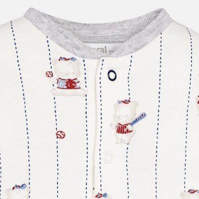 Komplet 2 piżamki interlock | Art.02744 K84 Roz. 4-6