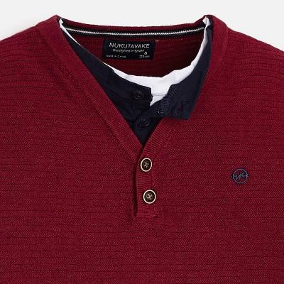 Sweter podwójny materiał | Art.07300 K26 Roz. 160