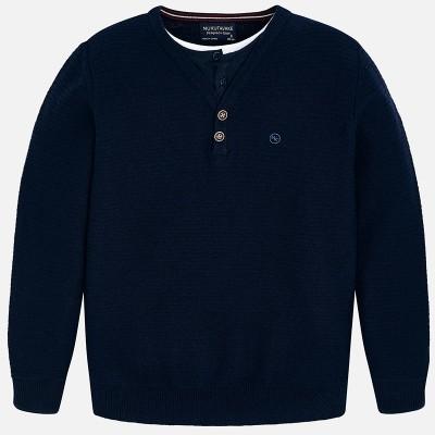 Sweter podwójny materiał | Art.07300 K28 Roz. 166