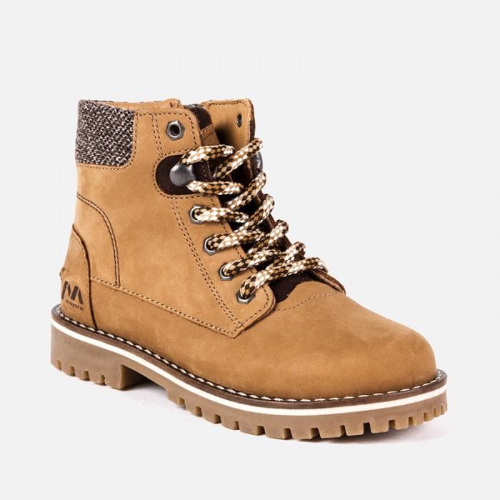 Buty skórzane górskie | Art.46887 K49 Roz. 31