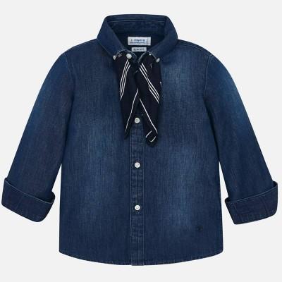 Koszula d/r denim chustka | Art.04124 K52 Roz. 134