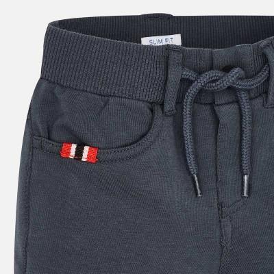 Spodnie dzianina ściągacz | Art.04518 K66 Roz. 128