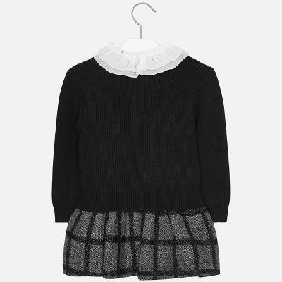 Sukienka łącz. z trykotem | Art.04930 K55 Roz. 116