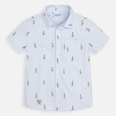 Koszula k/r nadruk   Art.03166 K76 Roz. 110
