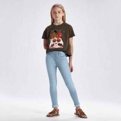 Spodnie jeans basic | Art.00554 K10 Roz. 152
