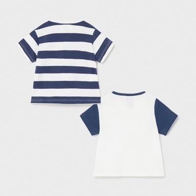 Komplet 2 koszulki krót.rękaw   Art.01075 K87 Roz. 60