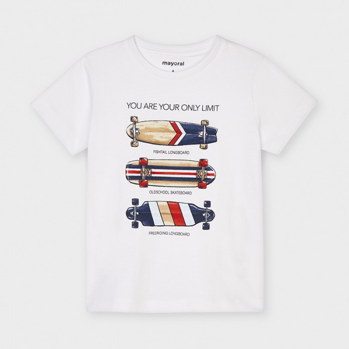 Koszulka k/r skateboards | Art.03044 K74 Roz. 116