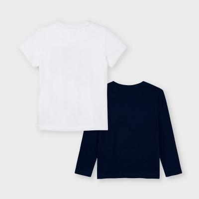 Set 2 koszulki d/r i k/r | Art.03055 K79 Roz. 128