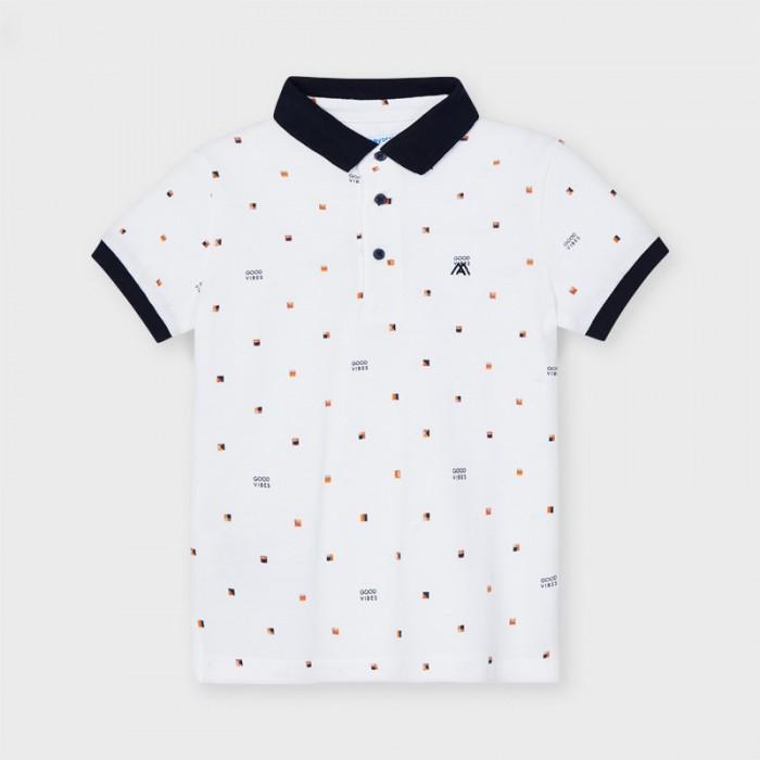 Koszulka polo k/r nadruk | Art.03106 K59 Roz. 134