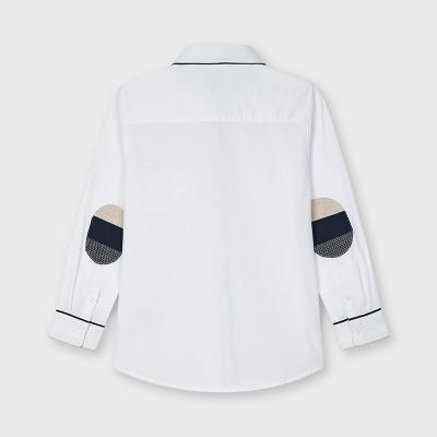 Koszula d/r elegancka kontras   Art.03128 K16 Roz. 92