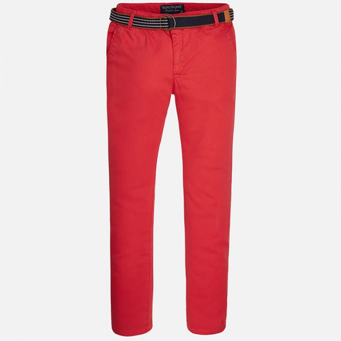 Spodnie klasyczne z paskiem | Art.06503 K29 160cm