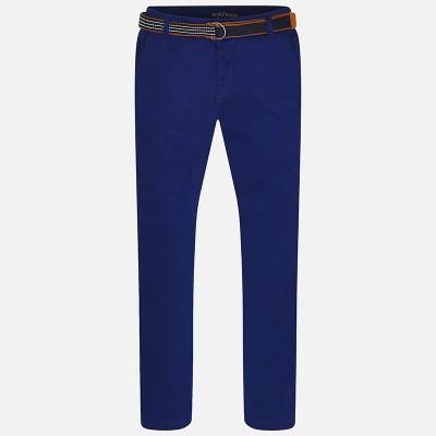 Spodnie klasyczne z paskiem | Art.06503 K32 166cm