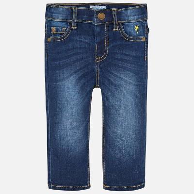 Spodnie jeans slim fit basic | Art.00503 K48 Roz. 74