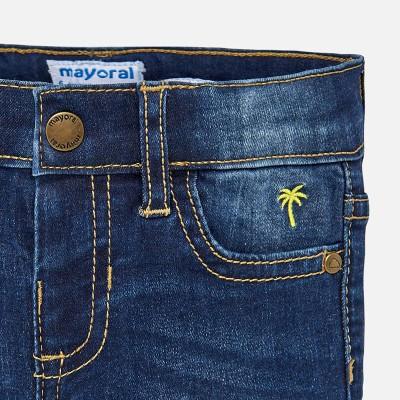 Spodnie jeans slim fit basic   Art.00503 K48 Roz. 74