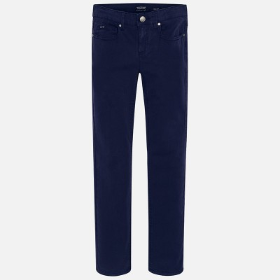 Spodnie serża slim fit basic | Art.00520 K28 Roz. 140