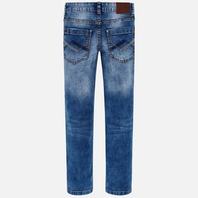 Spodnie jeans slim fit basic | Art.00538 K26 Roz. 140