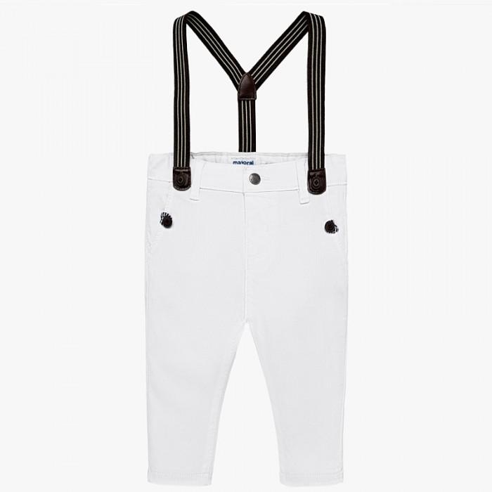 Spodnie chinos z szelkami | Art.01524 K37 Roz. 74
