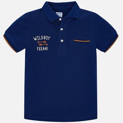 Koszulka polo k/r gładka | Art.03120 K78 Roz. 98