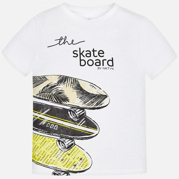 """Koszulka k/r """"skateboard"""" | Art.06038 K94 Roz. 140"""
