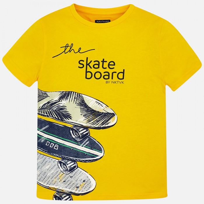 """Koszulka k/r """"skateboard"""" | Art.06038 K95 Roz. 140"""