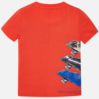 """Koszulka k/r """"skateboard"""" | Art.06038 K96 Roz. 140"""