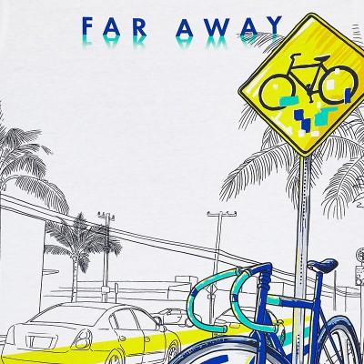 """Koszulka k/r """"far away"""" | Art.06043 K83 Roz. 140"""