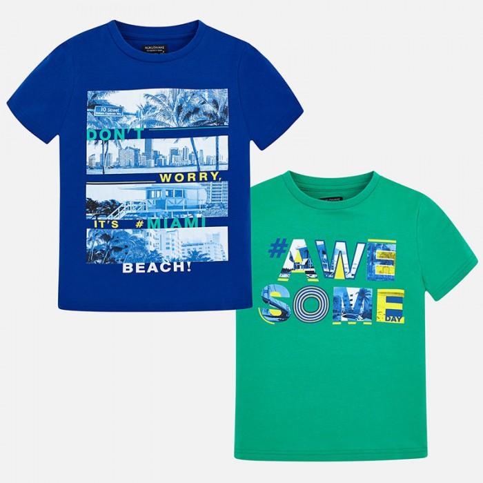 Komplet 2 koszulki krót.rękaw | Art.06044 K89 Roz. 140