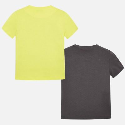 Komplet 2 koszulki krót.rękaw | Art.06044 K91 Roz. 140
