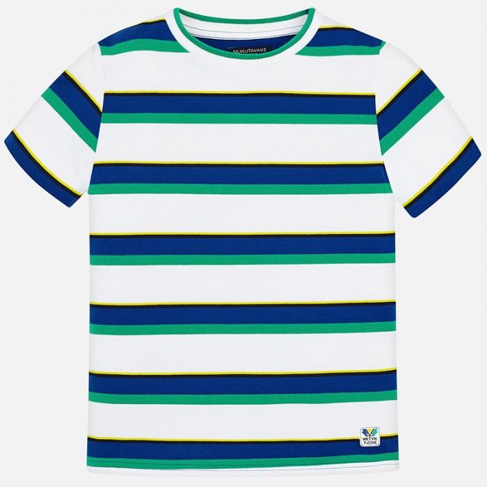 Koszulka k/r splot pika paski | Art.06045 K95 Roz. 140