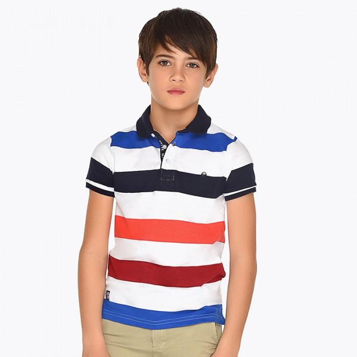 Koszulka polo paski k/r | Art.06114 K50 Roz. 140